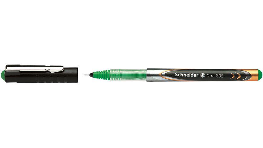 Schneider Rollerball 805 Xtra Needlepoint gruen