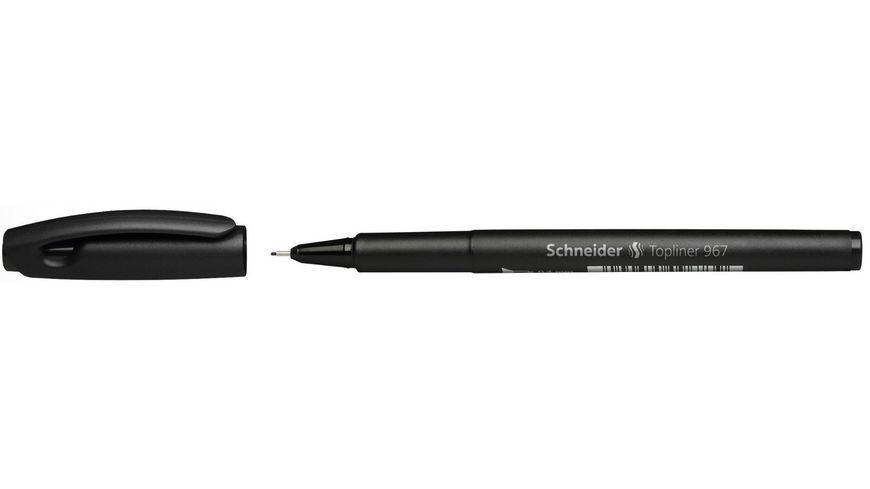 Schneider Fineliner 967 0 4mm schwarz