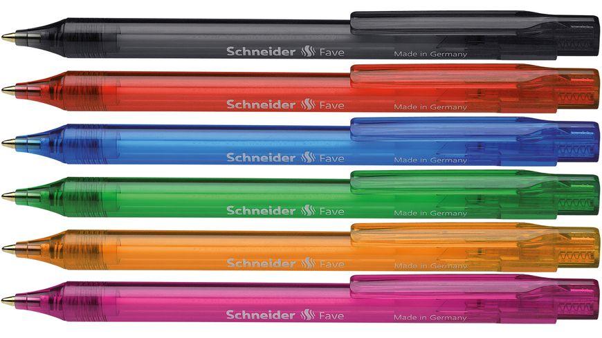 Schneider Kugelschreiber Fave 770 sortiert Mine Blau