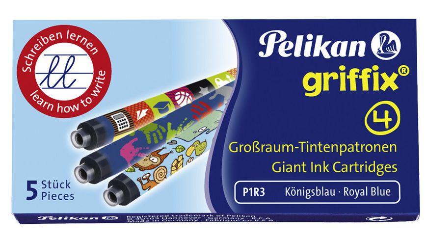 Pelikan Tintenpatrone fuer griffix 5er Pack