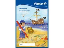 Pelikan Malblock A4 100 Blatt 70g sortierte Motive