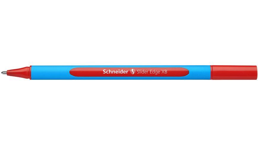 Schneider Kugelschreiber Slider Edge XB rot