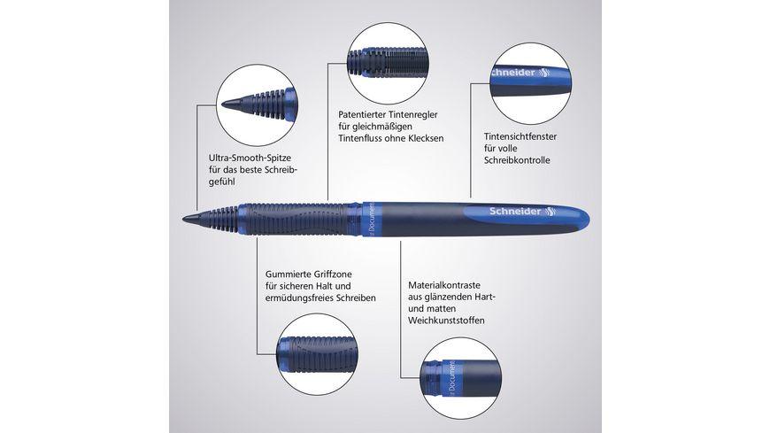 Schneider Rollerball One Business blau