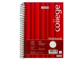 Notebook College A5 160Blatt kariert