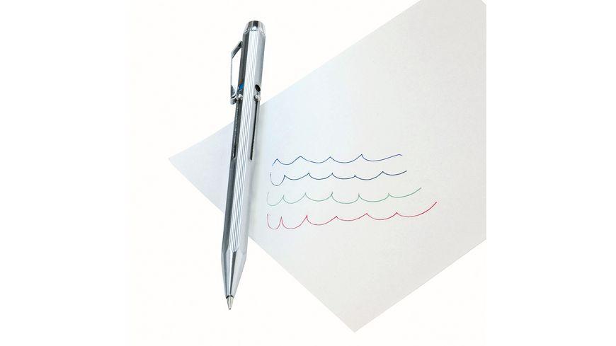 WEDO Kugelschreiber Metall 4farbig