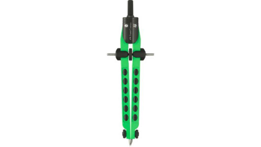FABER CASTELL Schnellverstellzirkel Factory neon