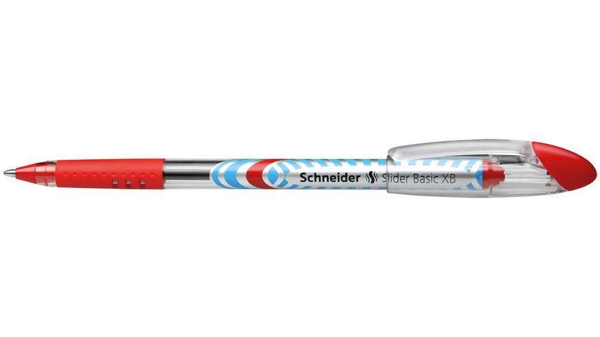 Schneider Gelschreiber Slider XB rot