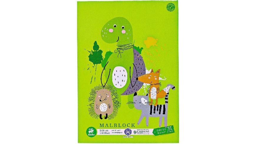 Green Ursus Malblock A4 100Blatt