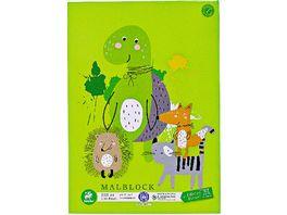 Ursus Green Malblock A4 100Blatt