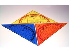 KUM Geometriedreieck 292 Ice sortiert