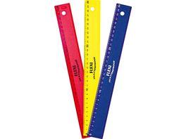 KUM Lineal Flexi 30cm farblich sortiert