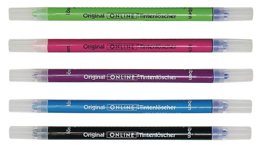 ONLINE Kombi-Tintenlöscher mit belüfteter Kappe sortiert