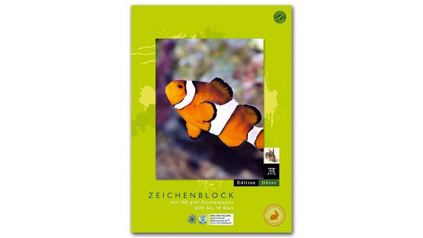 Edition Duerer Zeichenblock recycling A3 18 Blatt