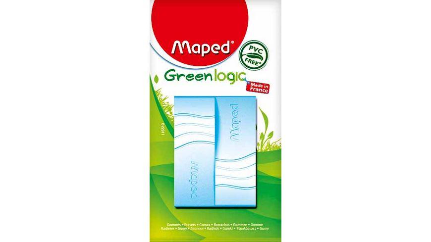 Maped Radierer 2er Pack Greenlogic