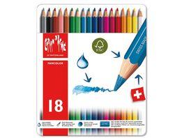 Caran d Ache Fancolor Buntstifte 18er