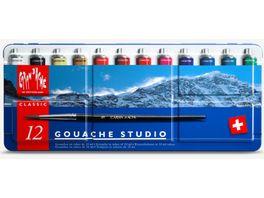 Caran d Ache Gouache Studio Farbkasten 15er