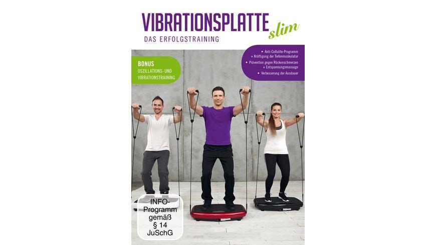 Vibrationsplatte Slim