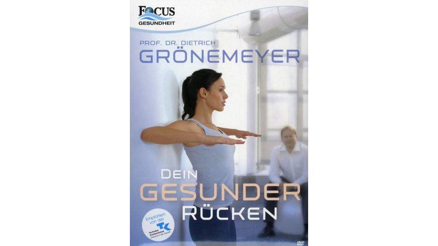 Prof Dr Dietrich Groenemeyer Dein Gesunder Ruecken