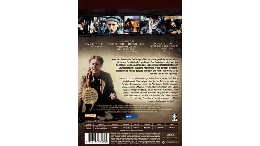 Holocaust Die Geschichte der Familie Weiss 4 DVDs