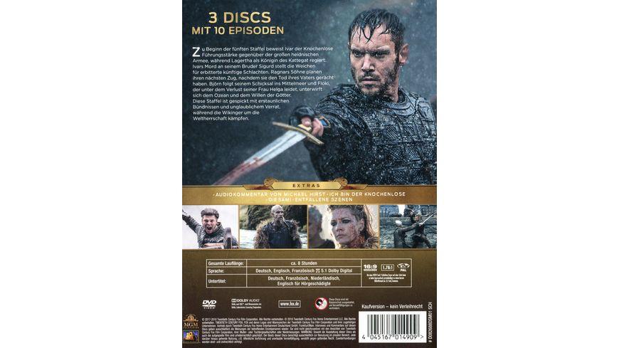Vikings Season 5 1 3 DVDs