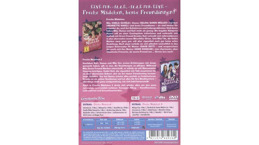 Freche Maedchen Teil 1 2 2 DVDs