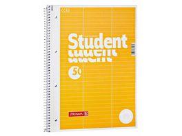 BRUNNEN Vokabel Collegeblock A4 Lineatur 54 3 Spalten