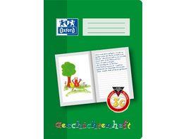 Oxford Schreiblernheft Geschichtenheft A4 Lineatur 3G 16 Blatt