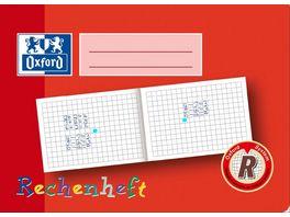 Oxford Schreiblernheft Zahlenlernheft A5 Lineatur R 16 Blatt