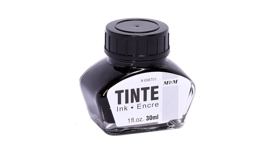 Metzger Mendle Tinte schwarz 30ml