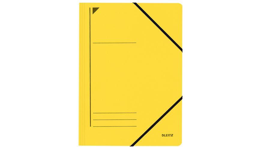 LEITZ Eckspanner A4 gelb