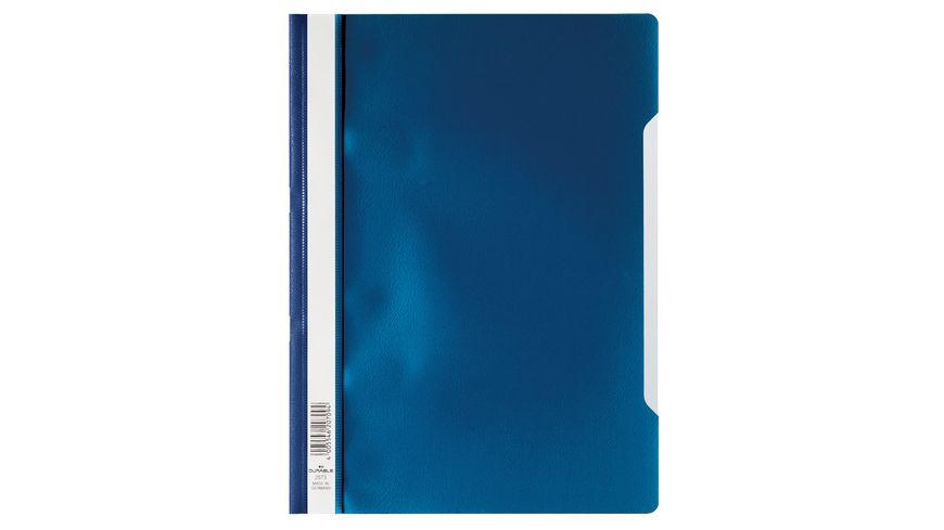 DURABLE Schnellhefter A4 dunkelblau