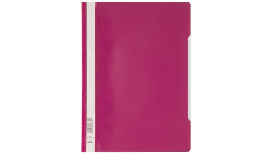 DURABLE Schnellhefter A4 PP pink
