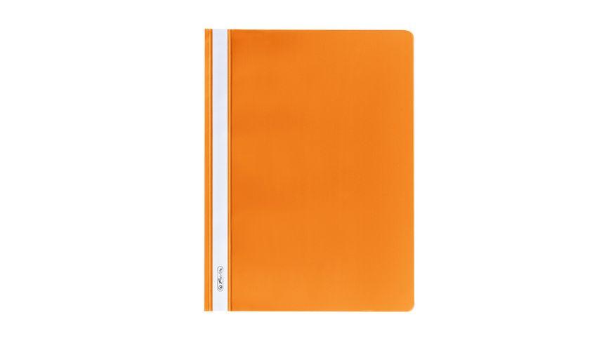 herlitz Schnellhefter A4 orange