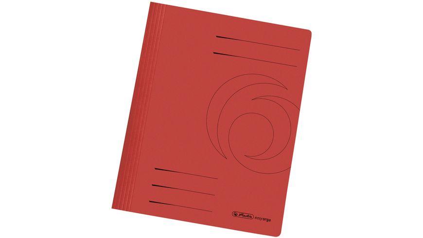 Pappschnellhefter A4 rot