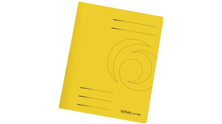 Pappschnellhefter A4 gelb