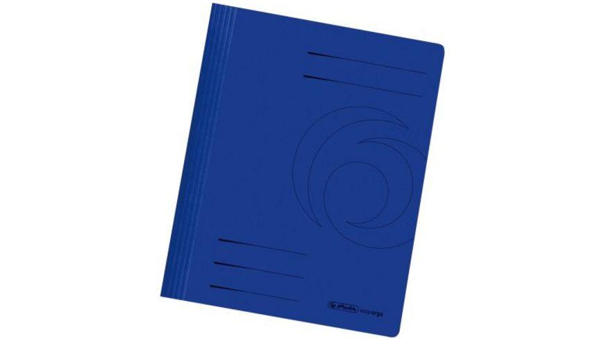 Pappschnellhefter A4 blau
