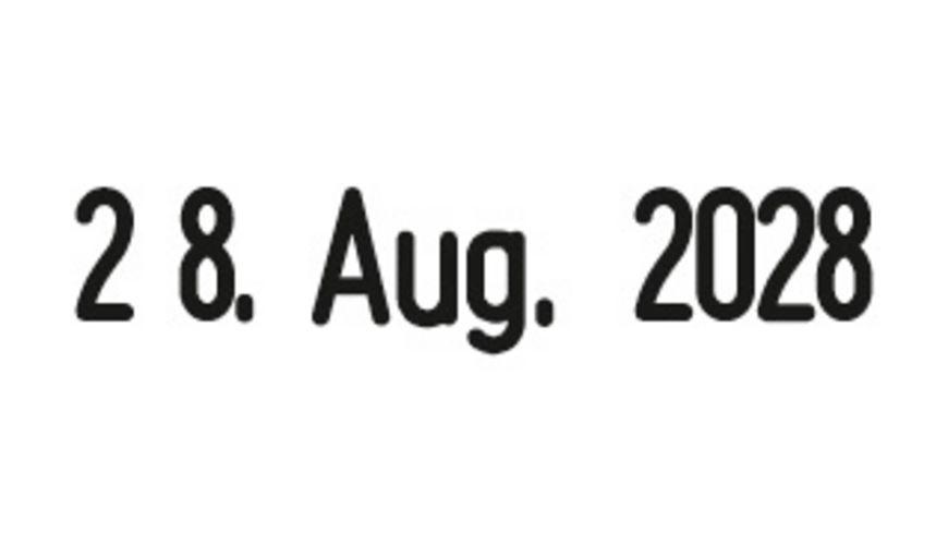 WEDO Datumstempel