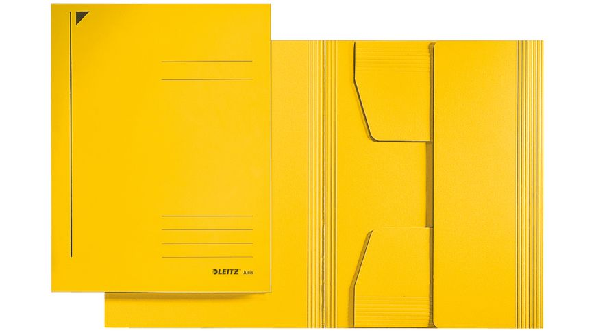 LEITZ Jurismappe A4 gelb