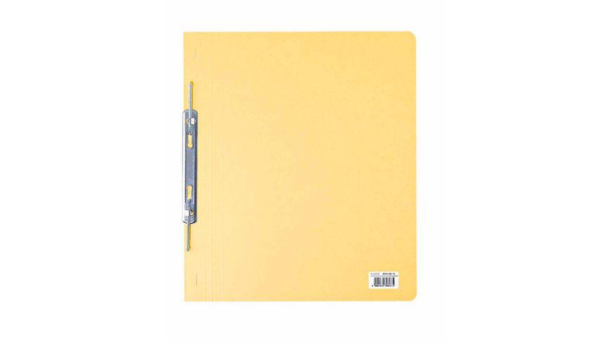 Spiralhefter A4 Pappe gelb