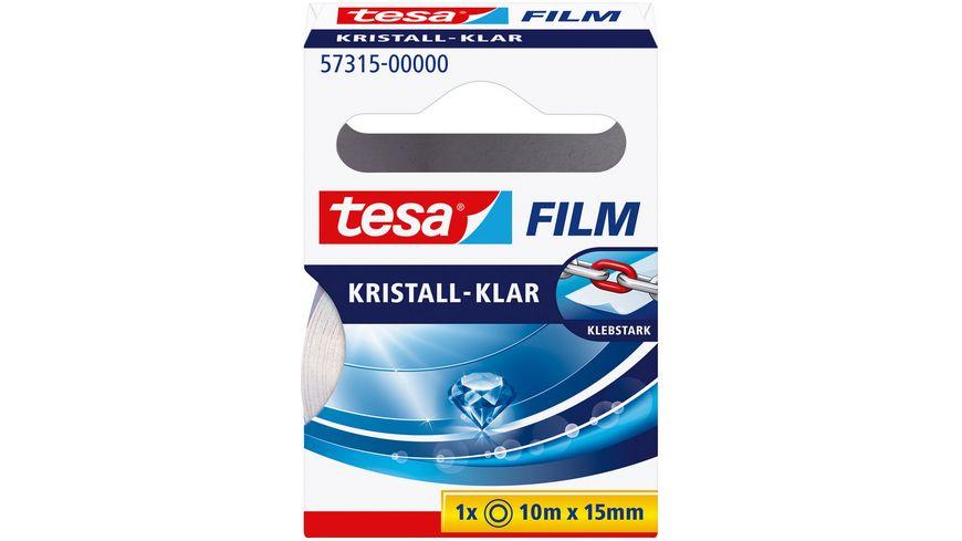 tesafilm® Kristall-Klar 10m x 15mm