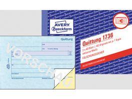 sigel Formularbuch Quittung SD022 A6 2 x 40Blatt