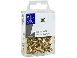 ALCO Musterbeutelklammern 80 Stueck