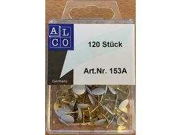 ALCO Reissnaegel 120 Stueck weiss