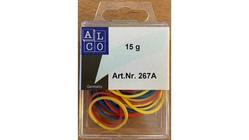 ALCO Gummibaender 15g 20 50mm bunt