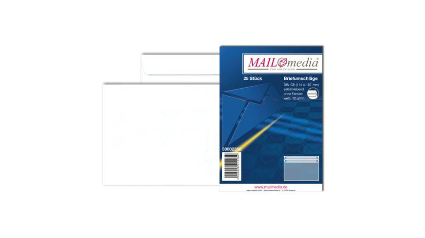 TORGAU Briefumschlag C6 ohne Fenster selbstklebend