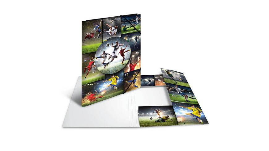 HERMA Sammelmappe A4 Football Karton