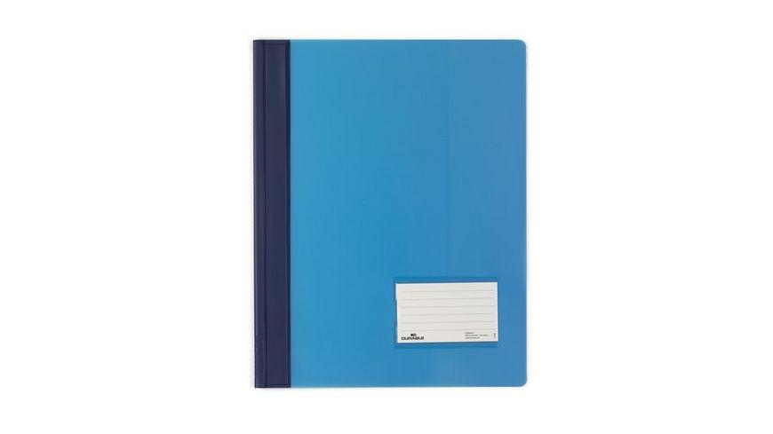DURALUX Schnellhefter A4 PP blau