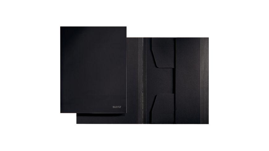 LEITZ Jurismappe A4 schwarz