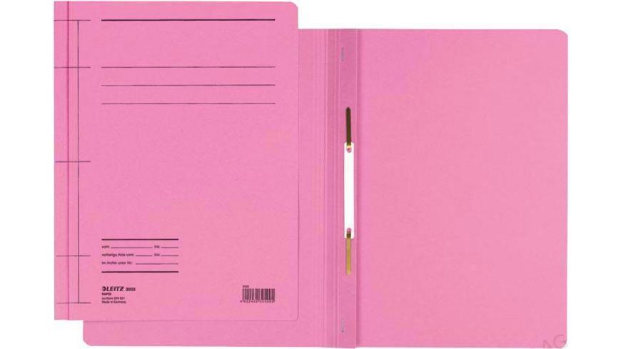 LEITZ Pappschnellhefter A4 pink