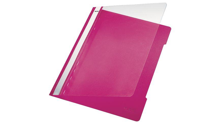 LEITZ Schnellhefter A4 pink
